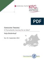Emissions Trading. A Transatlantic Journey for an Idea?