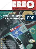 Stereo&Video 09 1998