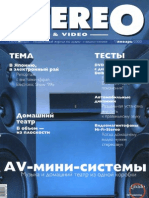 Stereo&Video 01 2000