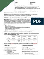 precalc course information 2013