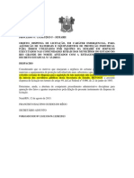 REVOGAÇÃO LICITAÇÃO CARÁTER EMERGENCIAL
