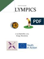 Eulympics Infosheet