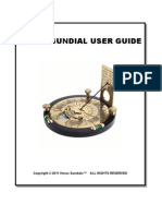 Horus Sundial User Guide