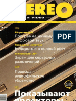 Stereo&Video 10 2001