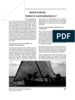 Who Owns Corporate Governance?