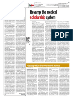 thesun 2009-06-01 page13 revamp the medical scholarship system