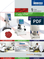 Brookfield Lab Catalog