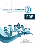 Guia Lengua Decimo Ano