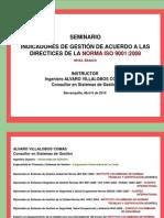 Seminario Indicadores Gestión Acuerdo Norma ISO 9001 2008 - Nivel Básico