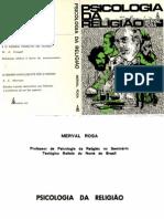 Psicologia da Religião - Merval Rosa