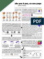 Rubik's Cube en 1 Page