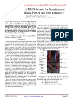 Development of EMG Sensor for Transfemoral Amputation (Knee Flexor and knee Extensor)