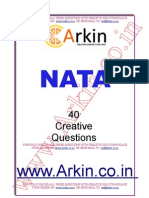 NATA 13 Years Complete Question Bank Book 1