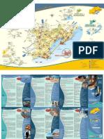 Carte Touristique Pays de Thau