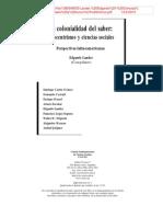 Lander, Edgardo - Ciencias sociales, saberes coloniales y eurocéntricos.pdf