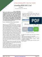 Understanding IEEE 802.11ad