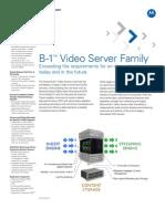 B-1 VideoServer Specsheet1