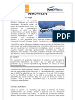 Cartilla de OpenOffice