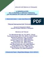 LA MANIPULACIÓN DE LA CHARNELA CERVICO TORÁCICA Y CARDIOPATÍAS - Juan José Boscá