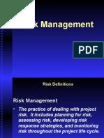 Module 04 Adv PM Risk Planning