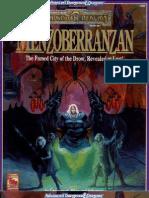 TSR 1083 - Menzoberranzan