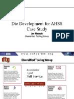 12 - Joe Meyecic - AHSS Tooling Technologies