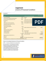 Asset Capital Management - Statement of Financial Condition