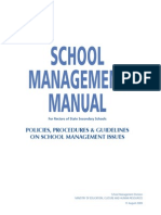 School Management Manual
