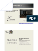 Salón de conferencias CÁMARA DE COMERCIO DE TALCA