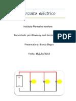 Circuito  eléctrico giowany