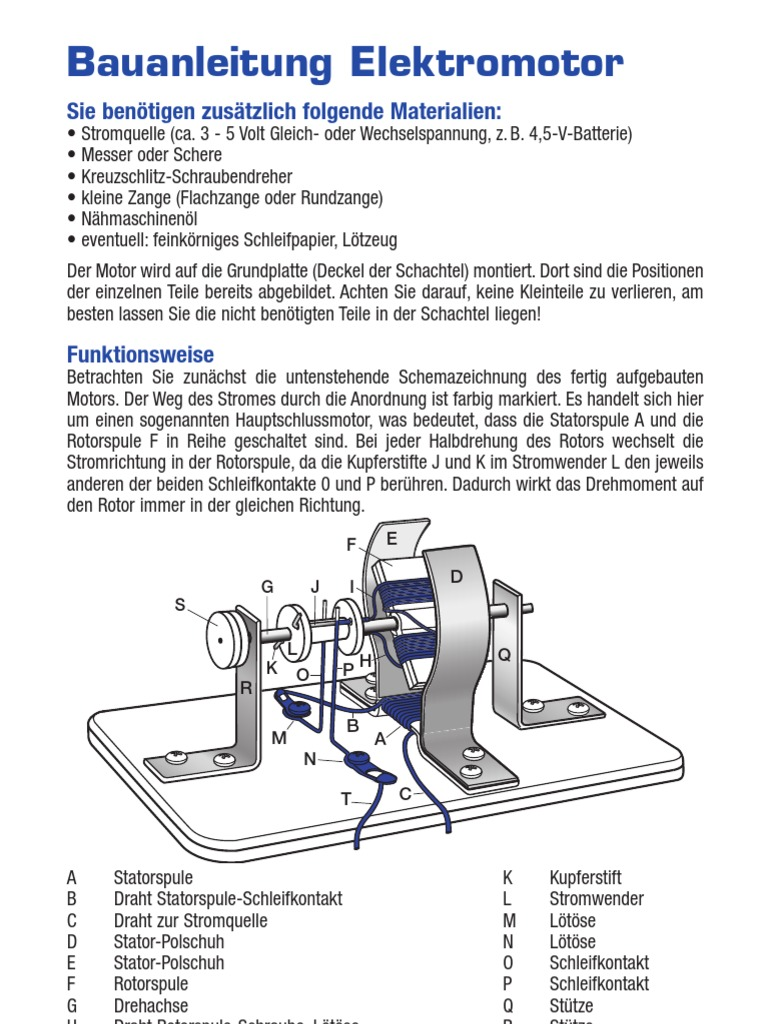 Berühmt 3 Draht Reversiermotor Ideen - Elektrische Schaltplan-Ideen ...