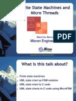 Finite State Machines and Micro Threds