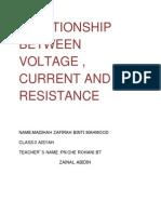 Relationship Between Voltage