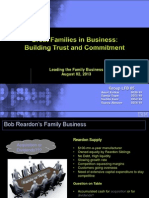 leading family business