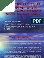 Basque Names