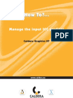 HowTo - Manage the Input ICC Profiles