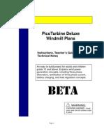 Stromgenerator - Pico Turbine Plan10B