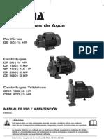 Manual110 Bomba Agua
