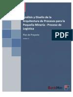 Project Plan - Proceso de Logistica de una pequeña mineria