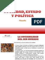 SOCIEDAD, ESTADO Y POLÍTICA