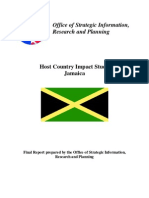 Peace Corps Host Country Impact Study Jamaica