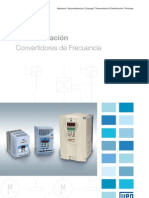 WEG Convertidores de Frecuencia 50022101 Catalogo Espanol