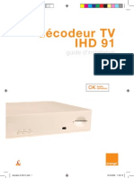 Guide Installation Decodeur Sagem IHD 91