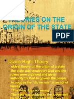 Theories on Origin of State