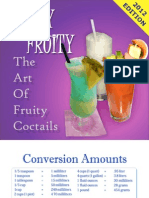 JUICY FRUITY - The Art of Fruity Cocktails
