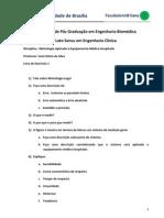 Exercicio de Metrologia Aplicada a EMH