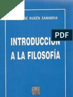 Jose Ruben Sanabria - Introduccion a La Filosofia