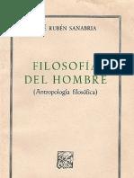 Jose Ruben Sanabria - Filosofia Del Hombre