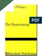 Walser, Robert - Der Spaziergang