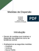 Medidas de Dispersao